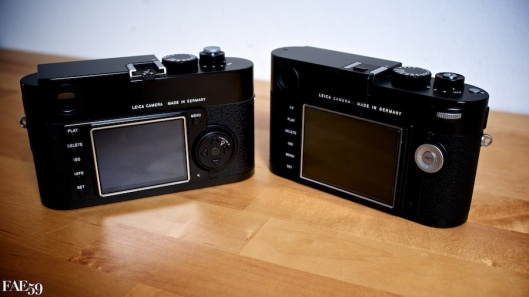Leica M & M9 - Les écrans