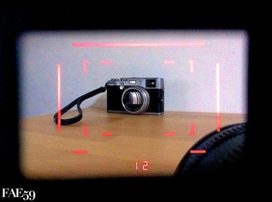 Viseur à cadre Led du Leica M