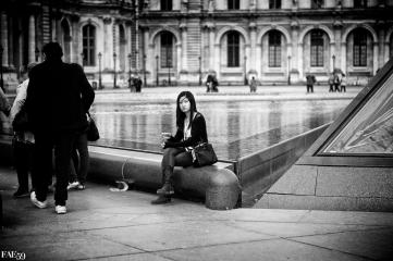 Une Asiatique à Paris