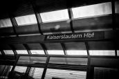 En gare de Kaiserslautern...