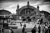 La gare de Francfort
