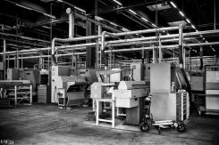 Atelier d'usinage des optiques Leica