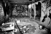 Garage abandonné