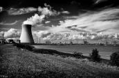 La Centrale nucléaire & le port d'Anvers