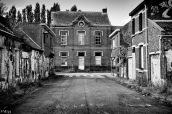 Rue de Doel avec l'école